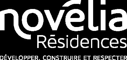 9245 NOVELIA Residences baseline logo_BLANC ok